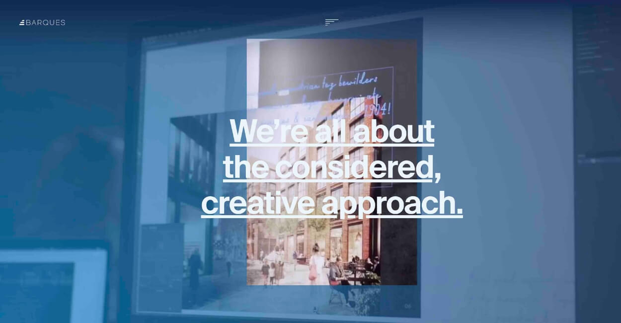 Barques Marketing Agency Website