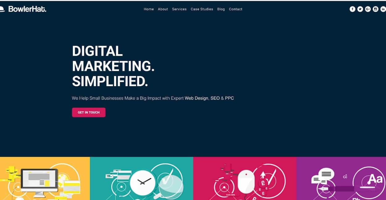 BowlerHat Marketing Agency Website